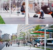 Montreal bus stops…