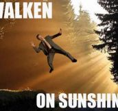 Walken on sunshine…