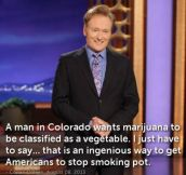 Good old Conan…