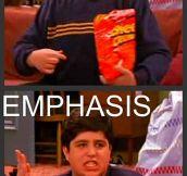 Emphasis…