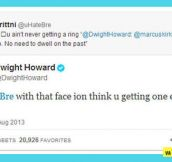 Dwight Howard owns Twitter troll…
