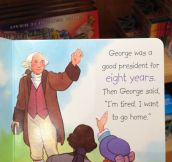 George was a good president…