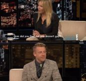 Chelsey Handler speaks with Macklemore…
