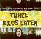 Severus Snape, ladies and gentlemen…