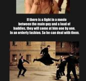 Things that only happen in movies…