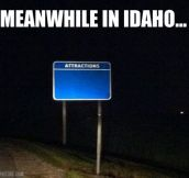 Idaho's attractions…