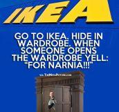 Ikea prank…