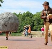 Awesome Indiana Jones cosplay…