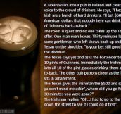 The way they do it in Ireland…
