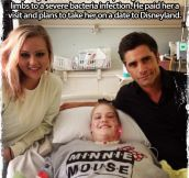 Way to go, John Stamos…