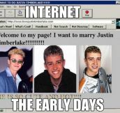 Internet, the early days…