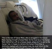 Kanye's Nest…
