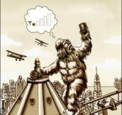 Misunderstood King Kong…