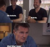 The inspiration behind Liam Neeson's role…