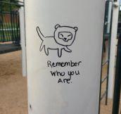 When graffiti is cute…