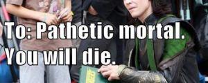 Loki's autograph…