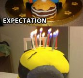 Minion cake goes terribly wrong…
