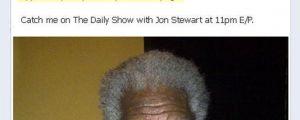 Morgan Freeman's epic response…
