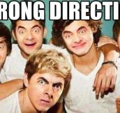Wrong Direction…