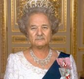 The Queen that should rule us all…