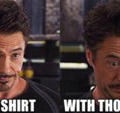 Sassy Tony Stark…