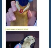 Snow White squeaky toy…