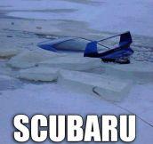 Scubaru…
