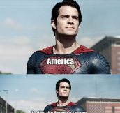 Superman is a jerk…