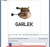 George Takei finds a Garlek…