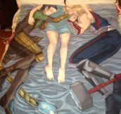 Best Thor and Loki blanket ever…