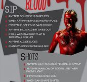 True Blood drinking game…