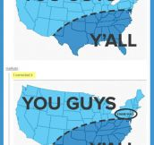 'You guys' USA chart…