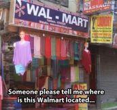 Unique Walmart…