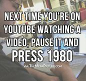 Next time you're on Youtube…