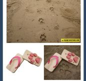 Animal Footprint Sandals…