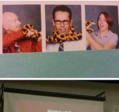 Teachers caught being awesome…