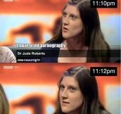 UK television is so ridiculous sometimes…