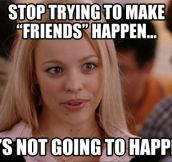 How it always feels after a break-up…