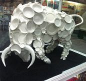 Bull in a china shop…