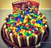 Sheldon's cake…