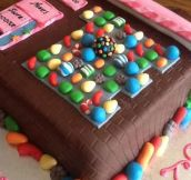 Candy Crush Cake…