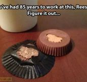 Come on, Reese's…