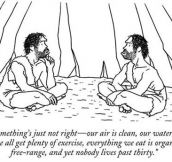 Cavemen Philosophy…