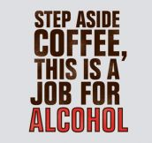 Step aside, coffee…