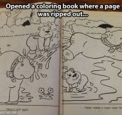 Not your regular coloring book…
