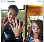 Tony Hawk is an awesome dad…