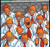 Nine out of ten dentists…