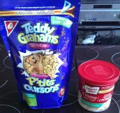 Eating Dunkaroos as an adult…