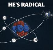 Radical electron…