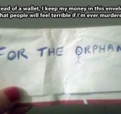 Best idea for a wallet…